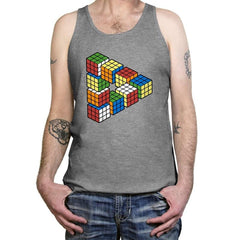 Magic Puzzle Cube Exclusive - Tanktop - Tanktop - RIPT Apparel