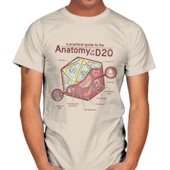Anatomy of the D20 - Mens - T-Shirts - RIPT Apparel