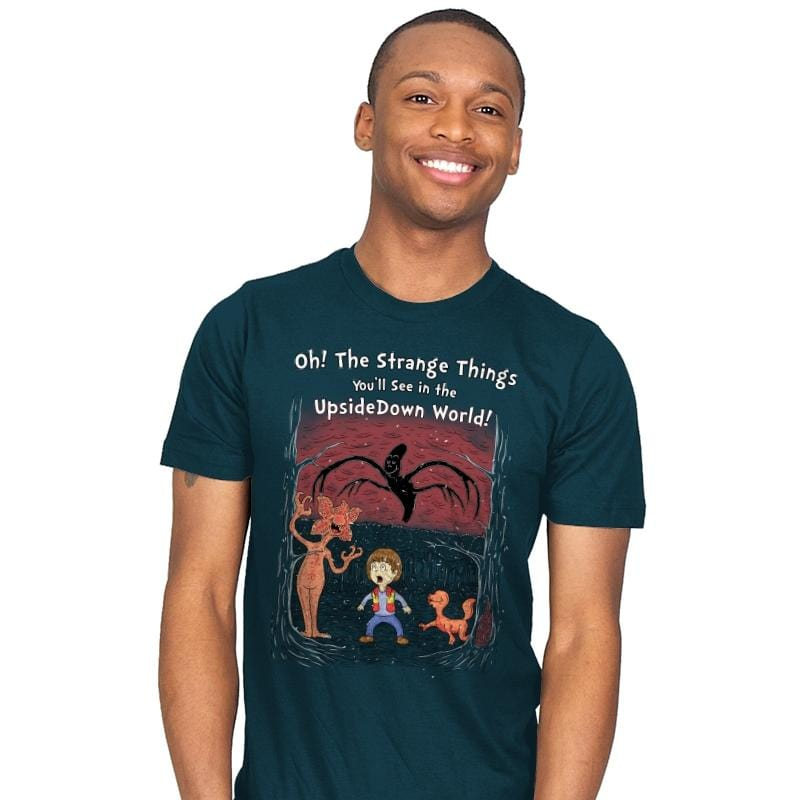 Oh! The Strange Things You'll See! - Mens - T-Shirts - RIPT Apparel