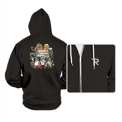 Grand Theft Mario V Reprint - Hoodies - Hoodies - RIPT Apparel