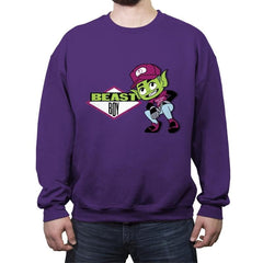Beastie Boy - Ad-Lib - Crew Neck Sweatshirt - Crew Neck Sweatshirt - RIPT Apparel