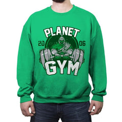 Planet Gym - Crew Neck Sweatshirt - Crew Neck Sweatshirt - RIPT Apparel