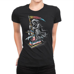 Death Enjoying Life - Womens Premium - T-Shirts - RIPT Apparel