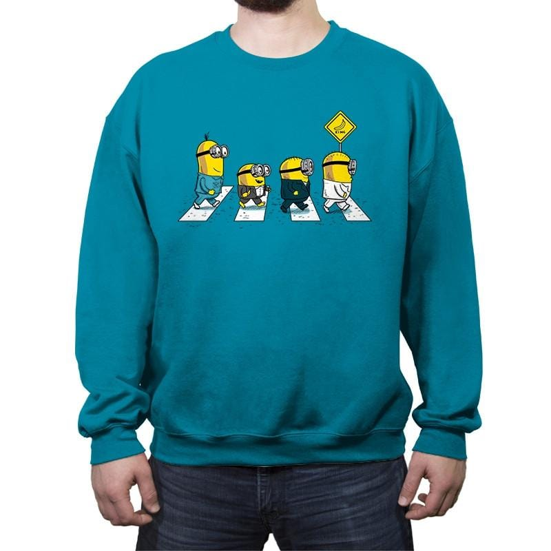 Banana Road - Crew Neck Sweatshirt - Crew Neck Sweatshirt - RIPT Apparel