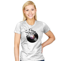 Vinyl - Back to Nature - Womens - T-Shirts - RIPT Apparel