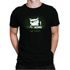 Cyber Puurate - Mens Premium - T-Shirts - RIPT Apparel