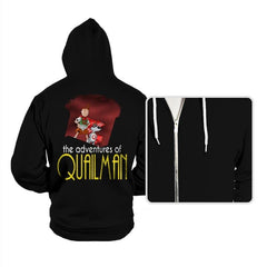 Adventures of Quailman - Hoodies - Hoodies - RIPT Apparel