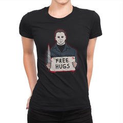 Free Hugs Yay - Womens Premium - T-Shirts - RIPT Apparel