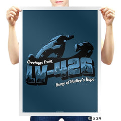 Greetings from LV-426 Exclusive - Prints - Posters - RIPT Apparel