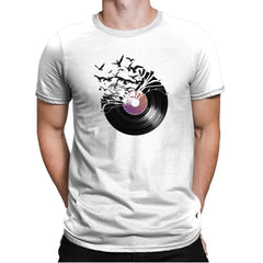 Vinyl - Back to Nature - Mens Premium - T-Shirts - RIPT Apparel