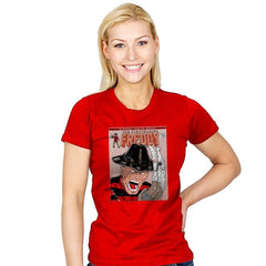 NIGHTMARISH FREDDY - Womens - T-Shirts - RIPT Apparel