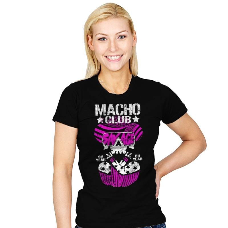 MACHO CLUB Exclusive - Womens - T-Shirts - RIPT Apparel