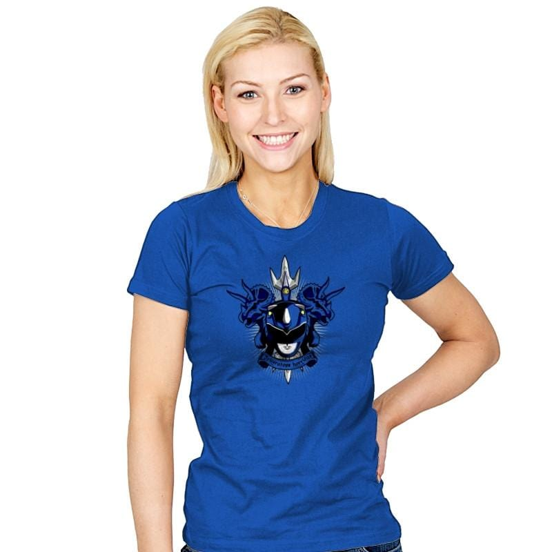 Cyaneus Triceratops Horridus - Zordwarts - Womens - T-Shirts - RIPT Apparel