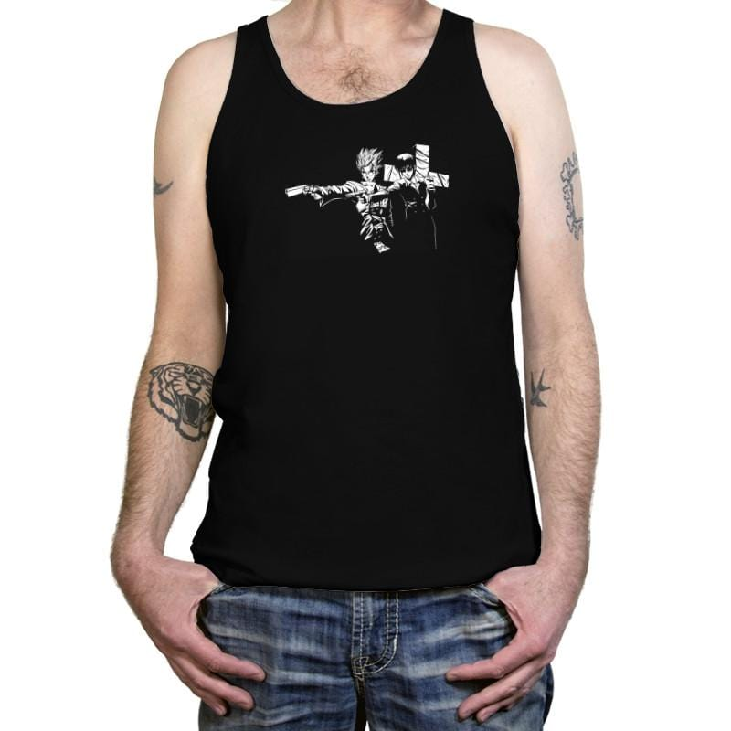 Trigun Fiction Reprint - Tanktop - Tanktop - RIPT Apparel