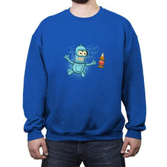 Nevbeermind - Crew Neck Sweatshirt - Crew Neck Sweatshirt - RIPT Apparel