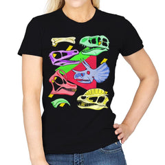 Radical Dinos - Womens - T-Shirts - RIPT Apparel