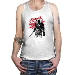 The Witcher Sumi-E - Sumi Ink Wars - Tanktop - Tanktop - RIPT Apparel
