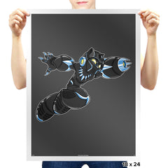 Mega Panther - Prints - Posters - RIPT Apparel