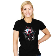 Calavera Fury - Womens - T-Shirts - RIPT Apparel