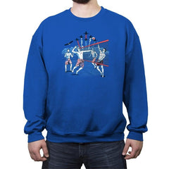 American Beach Volleyball - Crew Neck Sweatshirt - Crew Neck Sweatshirt - RIPT Apparel