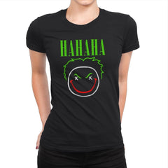 HAHAHA! - Womens Premium - T-Shirts - RIPT Apparel