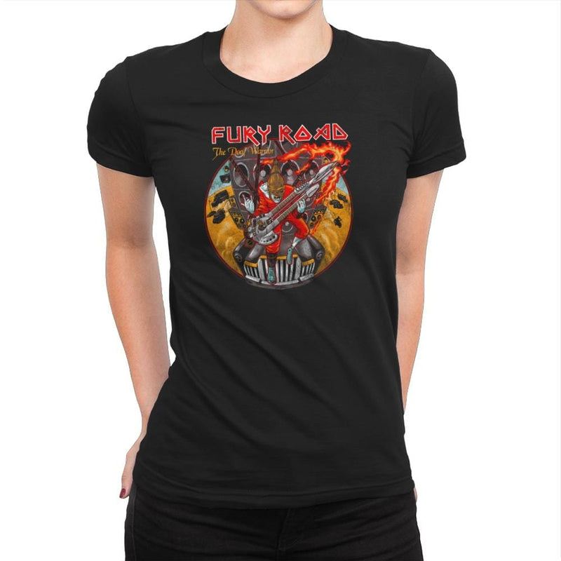 Fury Maiden: The Doofer Exclusive - Womens Premium - T-Shirts - RIPT Apparel