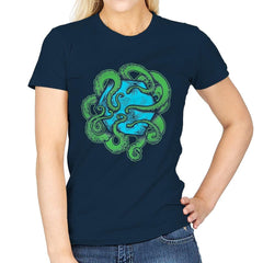 Monster of the Deep - Womens - T-Shirts - RIPT Apparel