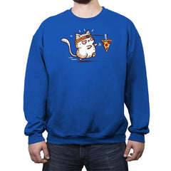 Self Meowtivation - Crew Neck Sweatshirt - Crew Neck Sweatshirt - RIPT Apparel