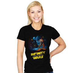 Infinity Wars - Womens - T-Shirts - RIPT Apparel