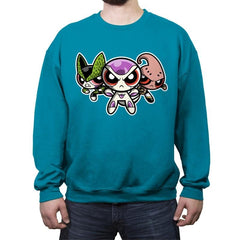 The Powerpuff Villains - Crew Neck Sweatshirt - Crew Neck Sweatshirt - RIPT Apparel