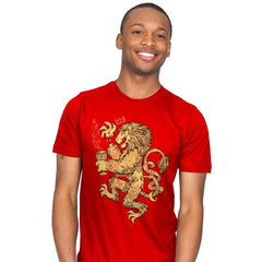 Lion Spoiler Crest - Mens - T-Shirts - RIPT Apparel