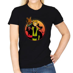 Mortal Shaggy - Womens - T-Shirts - RIPT Apparel