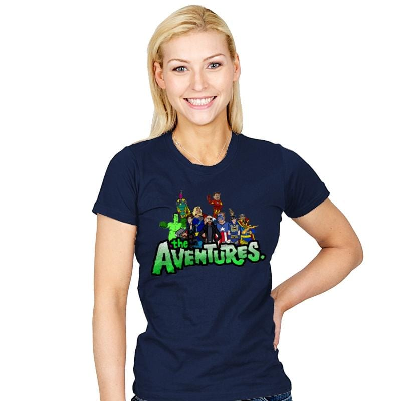 The Aventure Bros - Womens - T-Shirts - RIPT Apparel