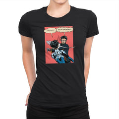 Get in the Robot Exclusive - Anime History Lesson - Womens Premium - T-Shirts - RIPT Apparel