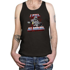 I kill all goblins - Tanktop - Tanktop - RIPT Apparel