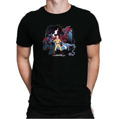 Who Would Win Exclusive - Anime History Lesson - Mens Premium - T-Shirts - RIPT Apparel
