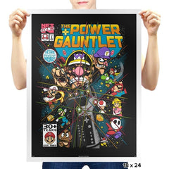 The Power Gauntlet Exclusive - Prints - Posters - RIPT Apparel
