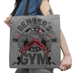 Bender's Gym Exclusive - Tote Bag - Tote Bag - RIPT Apparel