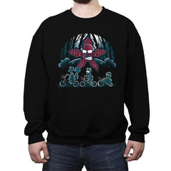 Stranger Demogorghomer - Crew Neck Sweatshirt - Crew Neck Sweatshirt - RIPT Apparel