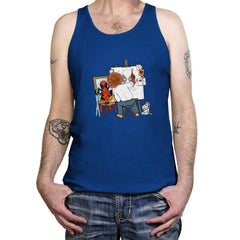 DEADLY AUTOPORTRAIT - Tanktop - Tanktop - RIPT Apparel