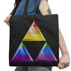 Pride-force Exclusive - Pride - Tote Bag - Tote Bag - RIPT Apparel