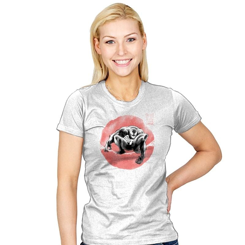 Ink Wash Symbiote - Womens - T-Shirts - RIPT Apparel