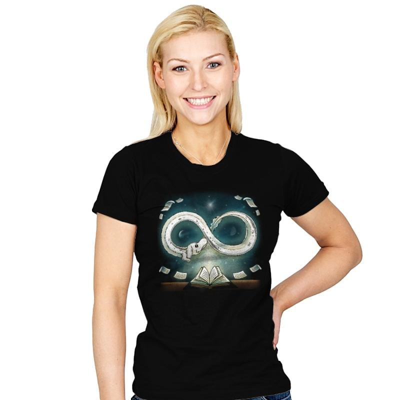 Infinity Story - Womens - T-Shirts - RIPT Apparel