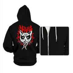 Black Metal Cat - Hoodies - Hoodies - RIPT Apparel