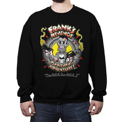 Punishing Adventures - Crew Neck Sweatshirt - Crew Neck Sweatshirt - RIPT Apparel