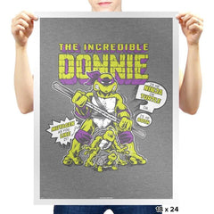 The Incredible Donnie Exclusive - Prints - Posters - RIPT Apparel