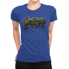 Carbonite Dance - Womens Premium - T-Shirts - RIPT Apparel
