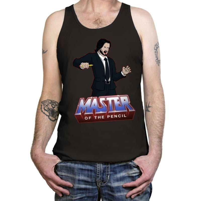 Master Of The Pencil - Tanktop - Tanktop - RIPT Apparel