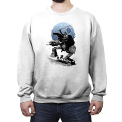 Crossing the Dark Path - Crew Neck Sweatshirt - Crew Neck Sweatshirt - RIPT Apparel