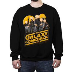 GALAXY COMEBACK TOUR - Crew Neck Sweatshirt - Crew Neck Sweatshirt - RIPT Apparel